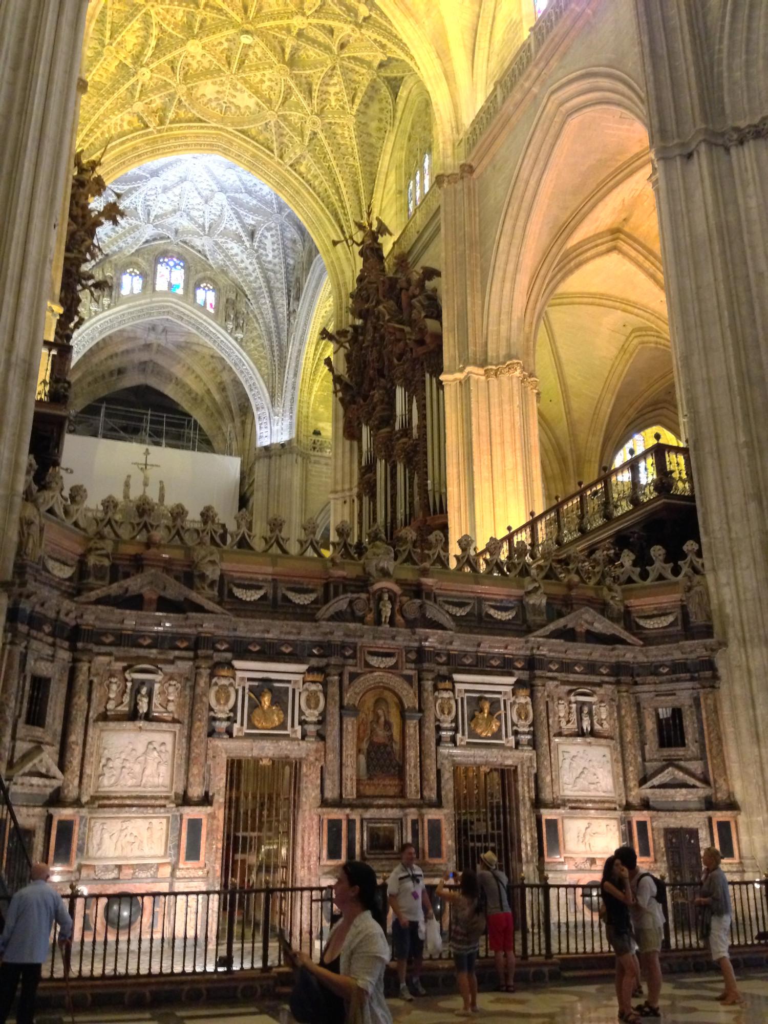 Seville Cathedral, Seville, Spain, Europe